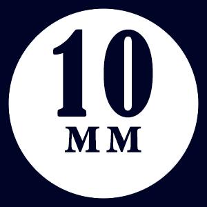 Толщина доски - 10